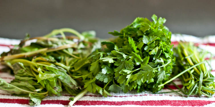 What do I do with leftover herbs? | Salsa Verde | Cook Smarts by Jess Dang