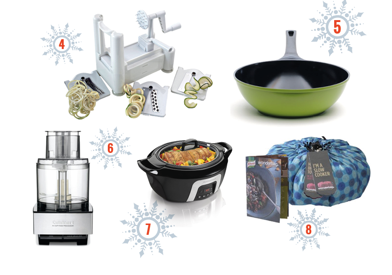 Kitchen gifts to help you cook simpler via @cooksmarts #holidaygiftguide