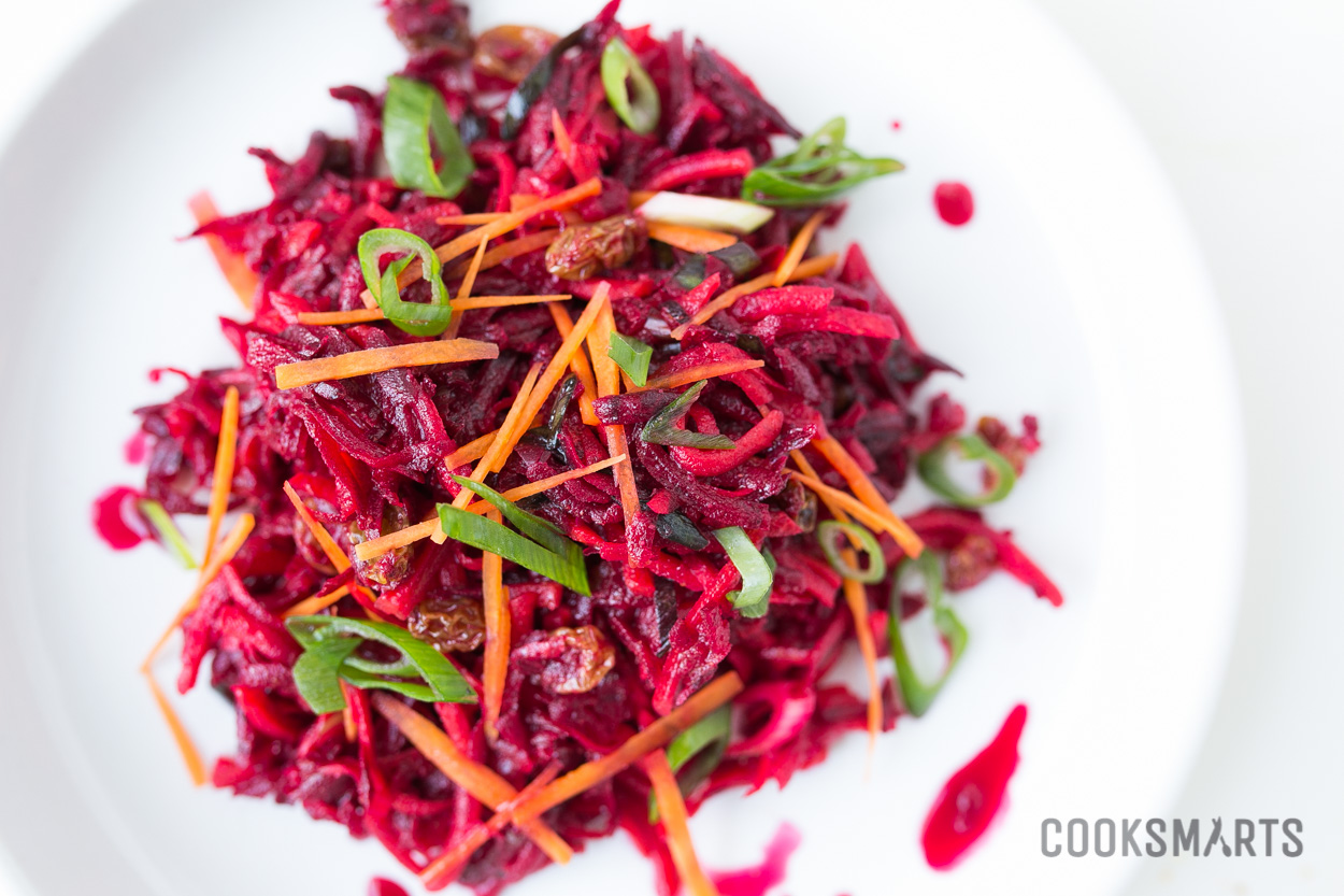 Spiced Carrot and Beet Slaw | Side Dish #recipe via @CookSmarts
